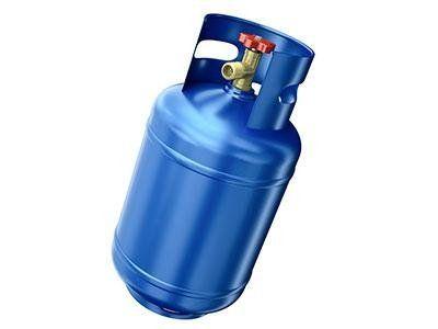 delle bombole di gas