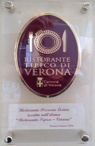 Typical restaurant in Verona