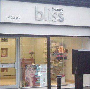 beauty bliss salon front