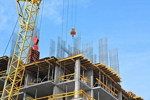 Costruzione edilizia a Matera