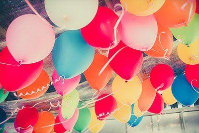 Decorazioni con palloncini per allestimenti a Porretta Terme