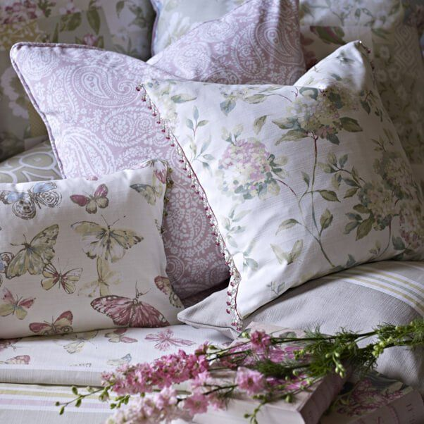 A selection of attractive cushions