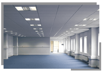 office lighting installation