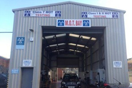 MOT Bay garage entrance image