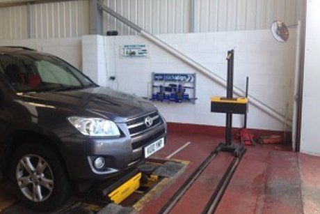 Image of vehicle servicing