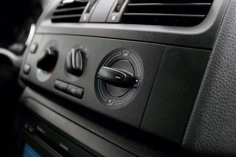 Vehicle AC controls