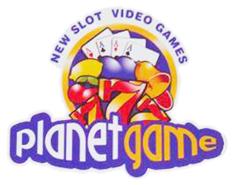 PLANET GAME - LOGO
