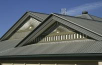 Example of our Colorbond steel roofing services in Anchorage, AK