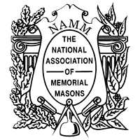 THE NATIONAL ASSOCIATION OF MEMORIAL MASONS logo