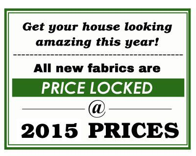 All or prices are price locked at 2015 prices!
