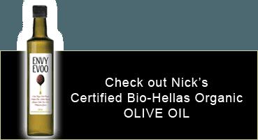 ENVY EVOO | Certified Bio-Hellas Organic Olive Oil