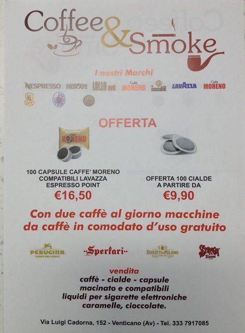 offerta capsule offerta caffè a Venticano