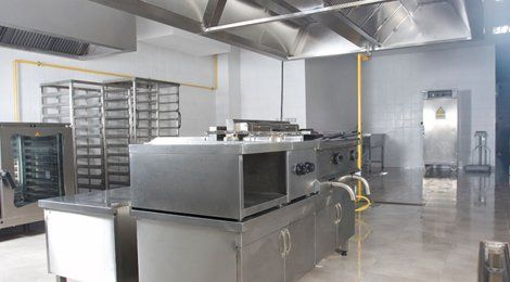 Fabrication of kitchen equipment