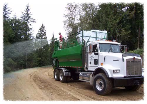 hydroseeding truck applications