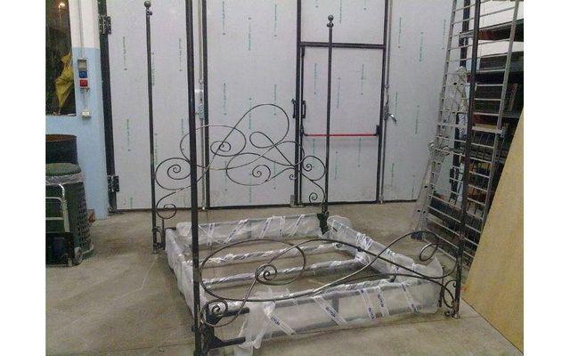 struttura letto ferro