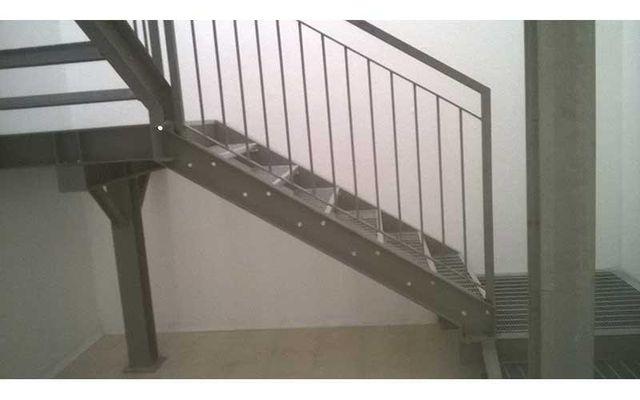 scalinate in acciaio da interno