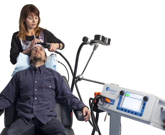 Depression Treatment rTMS Repetitive Transcranial Magnetic Stimulation