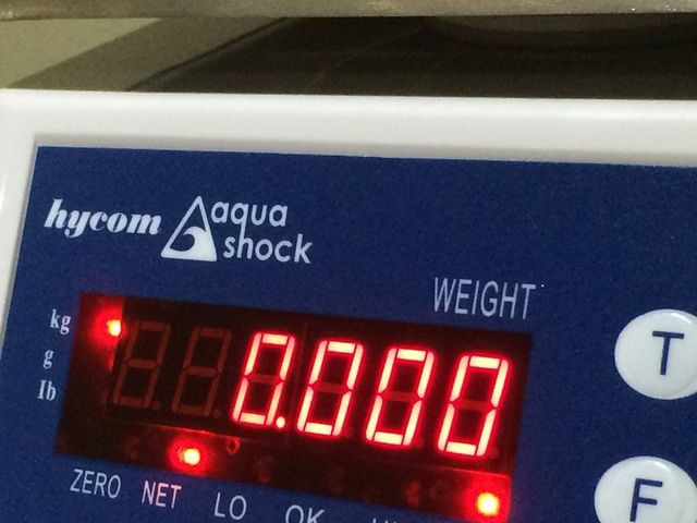 aquashock scale