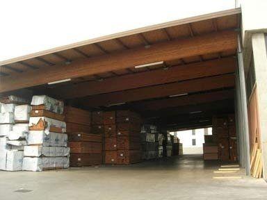 Magazzino per conservazione legno