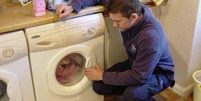 washing machine for repair