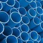 dei tubi azzurri