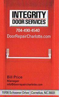 Door Repair Cornelius, NC