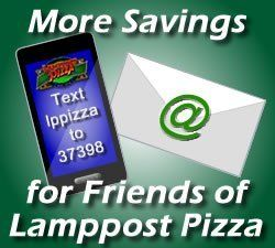 Pizza text specials, delivery, online ordering, Davis, Ca