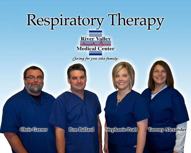 Respiratory therapy department