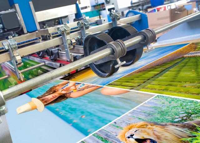 State-of-the-art printing equipment