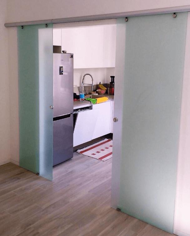 Porta installata da AF Serramenti a Prato