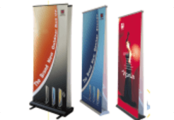 Print services - Abergavenny, Gwent - Amdart - roll up displays