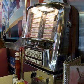 newly installed jukebox