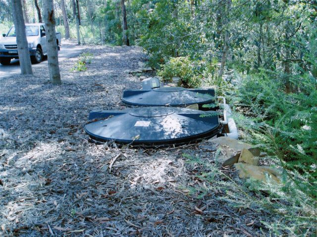 Black Septic Tanks