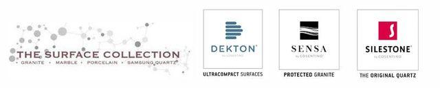 DEKTON SENSA SILESTONE logos