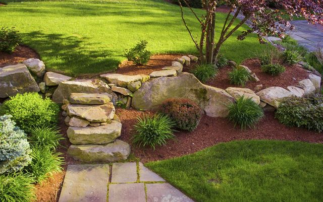 Raleigh landscaping services residential commercial for Landscape design raleigh
