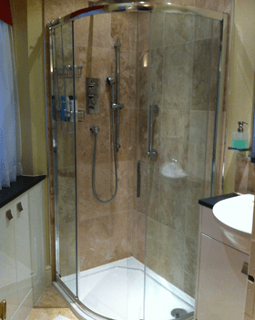 Kitchen and bathroom installations - Heckfield, Hampshire - Rob Cullum Plumbing & Heating - Shower