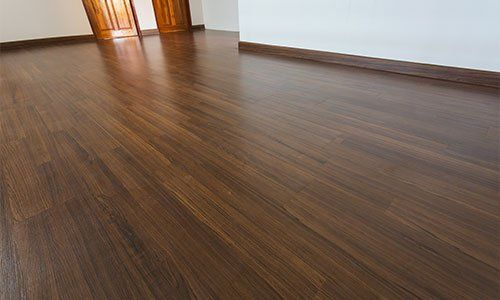 Residential wood laminate floor