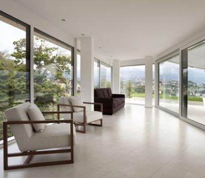 Montaggio vetrate in abitazioni