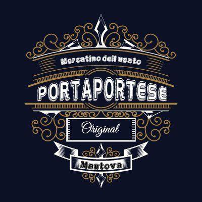 PORTA PORTESE MERCATINO DELLu0027USATO   LOGO