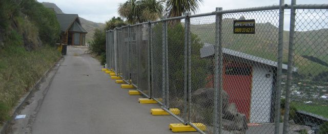 fencing rental in Christchurch