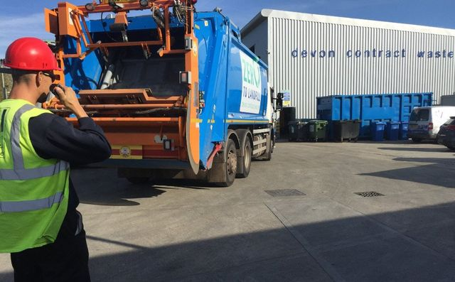 Devon Contract Waste setting new standard for vehicle safety