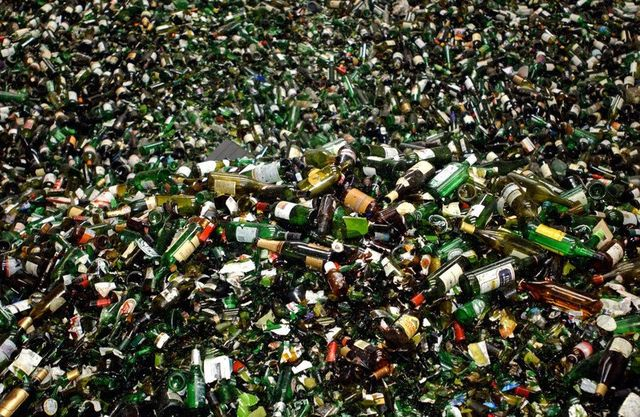 Glass Collection & Recycling in Devon | Zero to Landfill by
