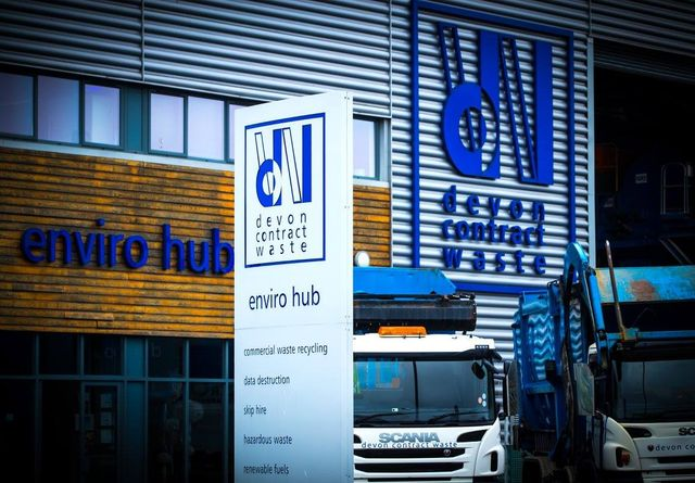 Commercial waste recycling by Zero to Landfill by dcw co uk