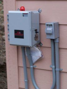 Your septic alarm is usually located near your electrical box