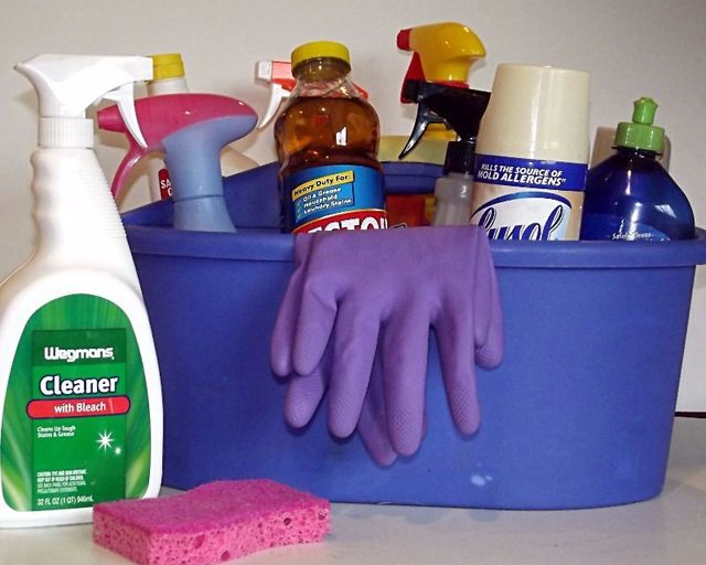 Avoid flushing household chemicals down the drain to protect your septic system!