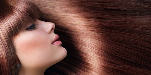 beautiful straight hair