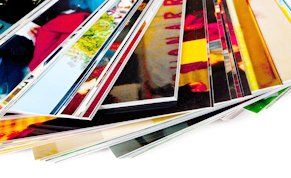 Foiled photograph prints