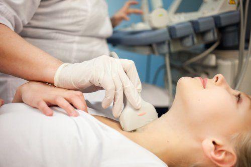 ecografia alla tiroide