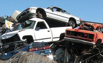 End-of-life cars scrapped