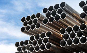 Metal pipe stack
